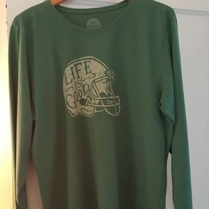 Life is good Football Shirt